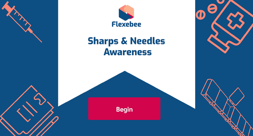 Sharps and Needles Awareness Course Page